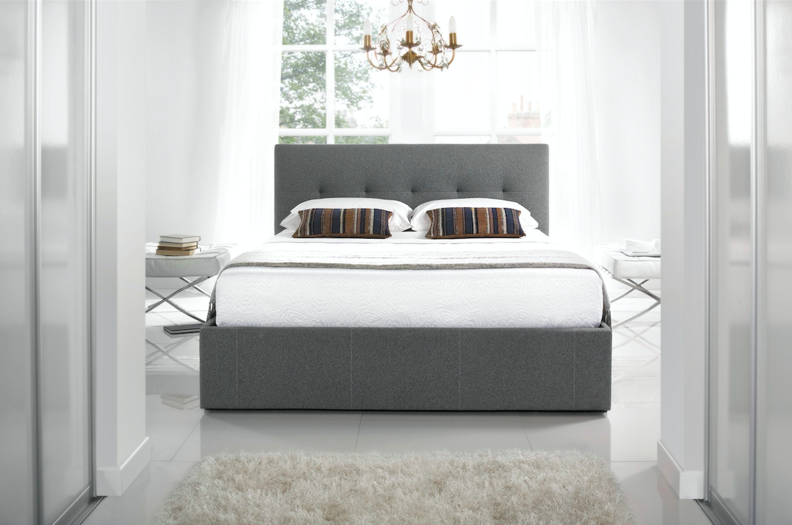 Duvet Covers & Bedding Sets Bed frame with storage, King
