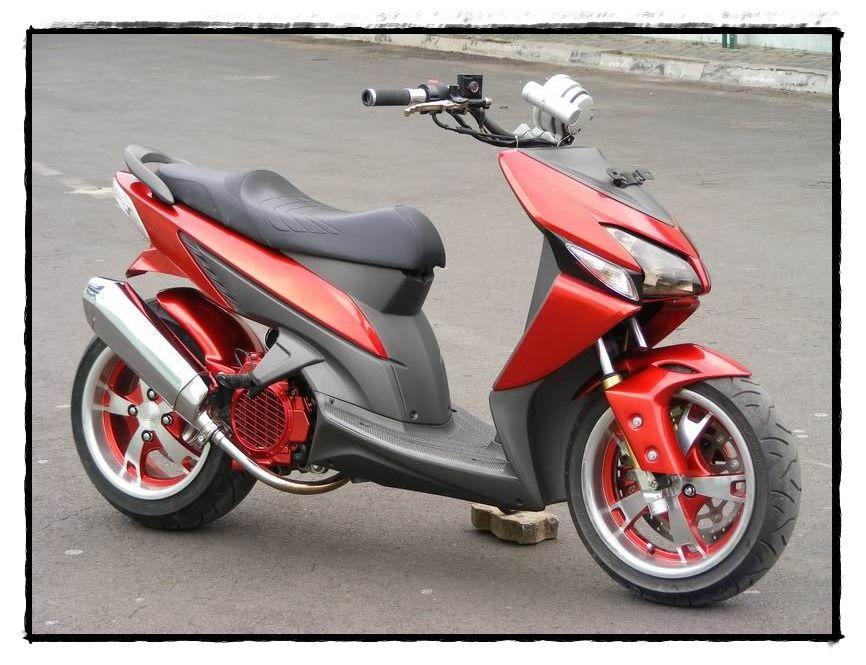 Modifikasi Motor Matic 2 Lowrider Honda Motor