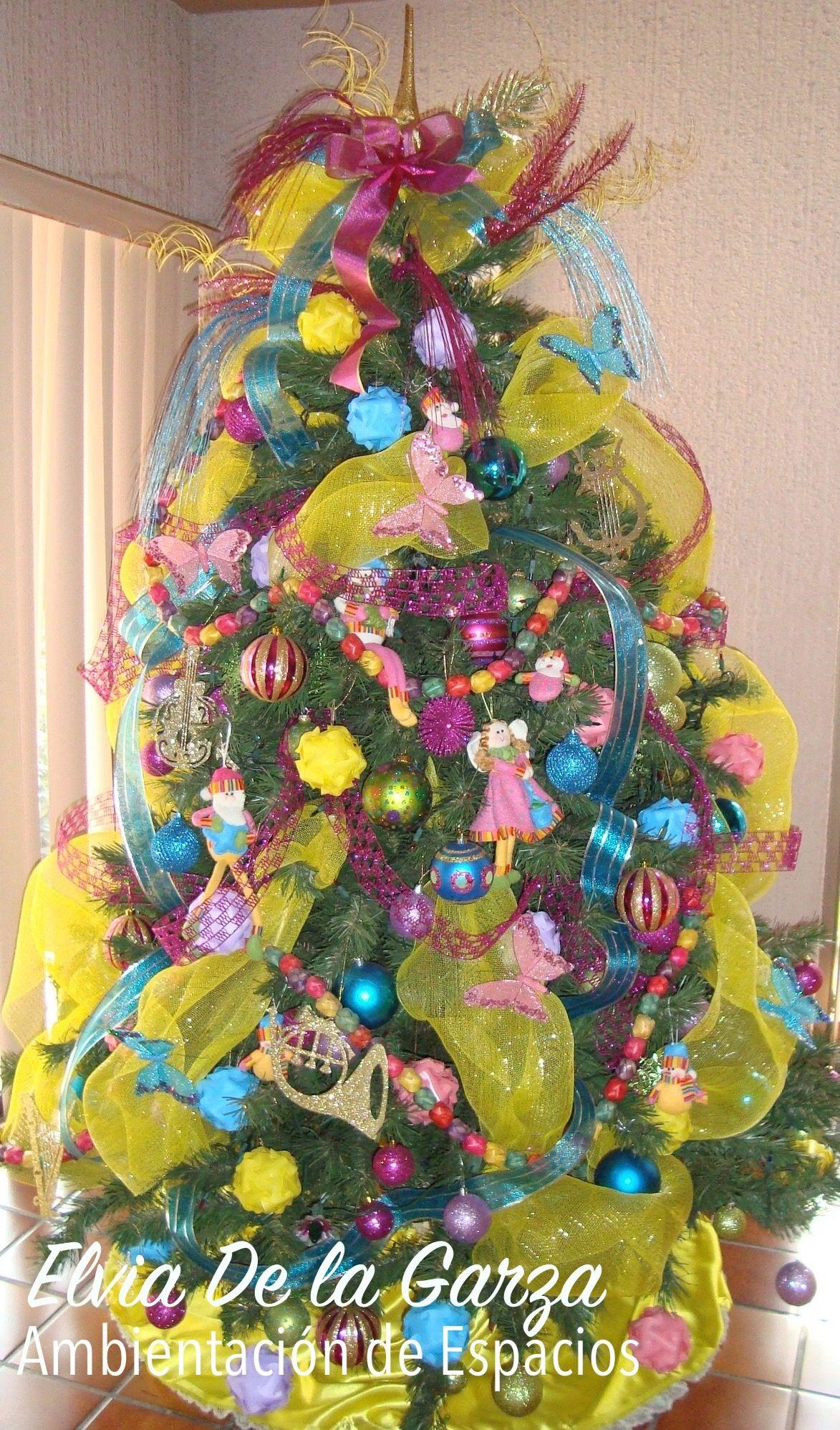 Tema: Colores Pastel | Pinos de Navidad | Pinterest | Pinos de ...