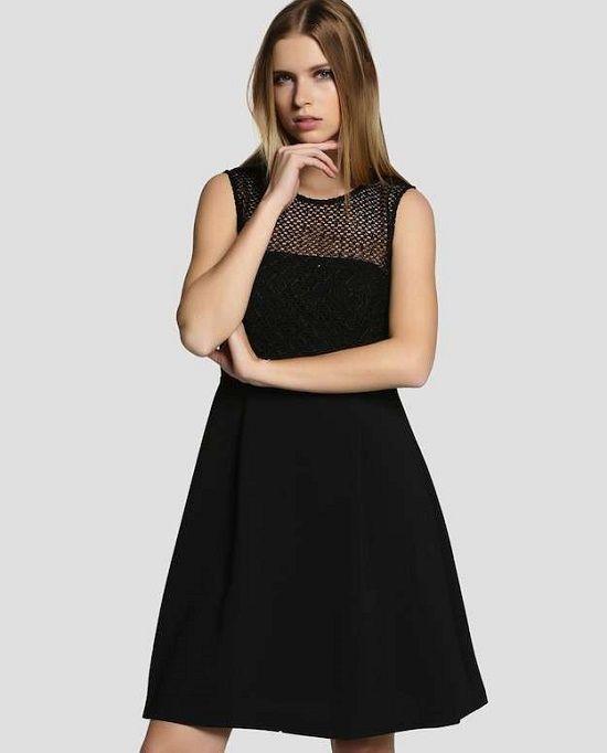 Vestidos color negro casual