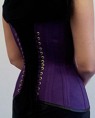 How to make a corset: a free tutorial on creating a simplified corset for beginners.