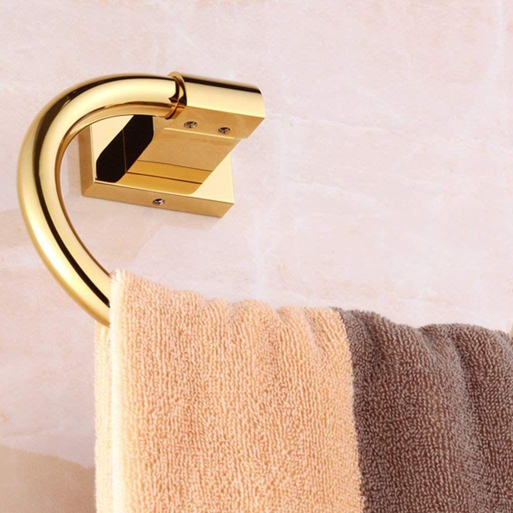 Hdzww Design House Towel Racks For Bathroom Towel Ring Copper Fashion Simple Gold Color Hotel Home Ba In 2020 Towel Rack Bathroom Hotel Bathroom Design Bathroom Towels