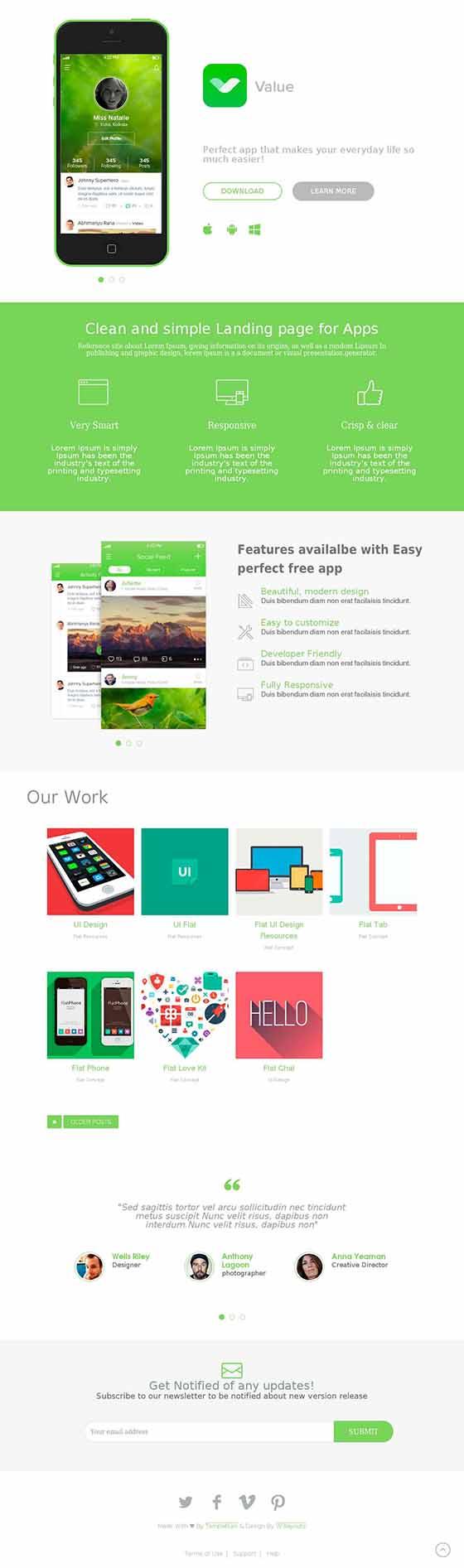 Plantillas responsive para crear paginas web usando Blogger