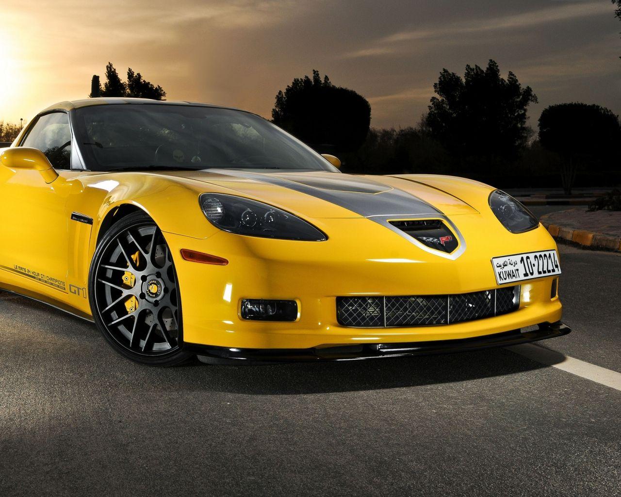 Download Wallpaper 1280x1024 Chevrolet, Corvette, C6