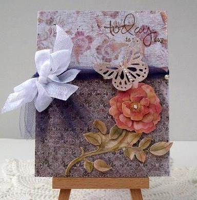 Card: Today - is the day ~ wedding card