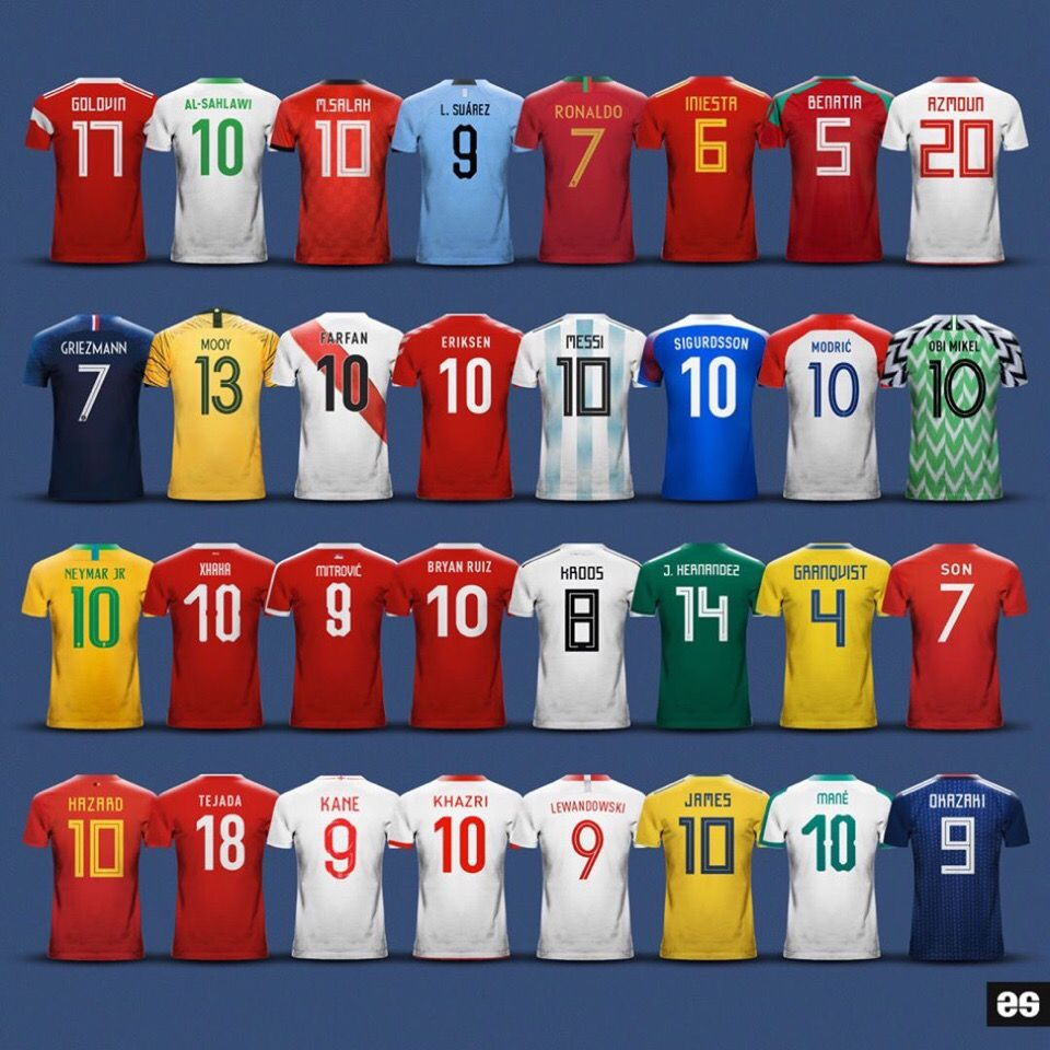 2018 Fifa World Cup Russia Leaders Of Their National Teams Worldcup2018 Worldcup Fifaworldcup2 Camisetas De Futbol Poster De Futbol Copa Mundial De Futbol