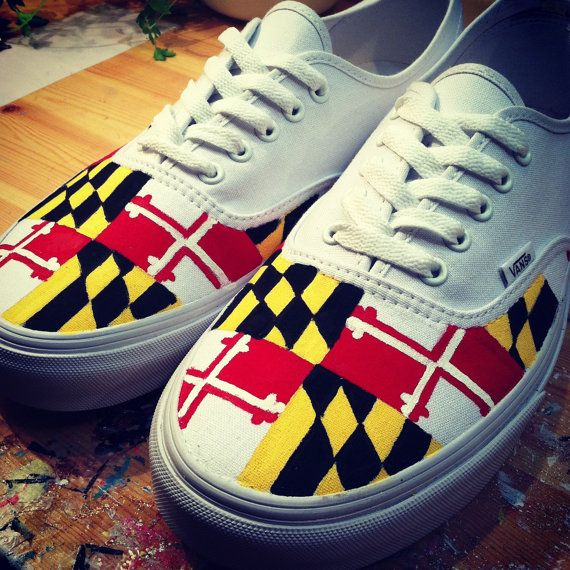 6e38b9b2a0 Maryland Vans by 816Creations on Etsy
