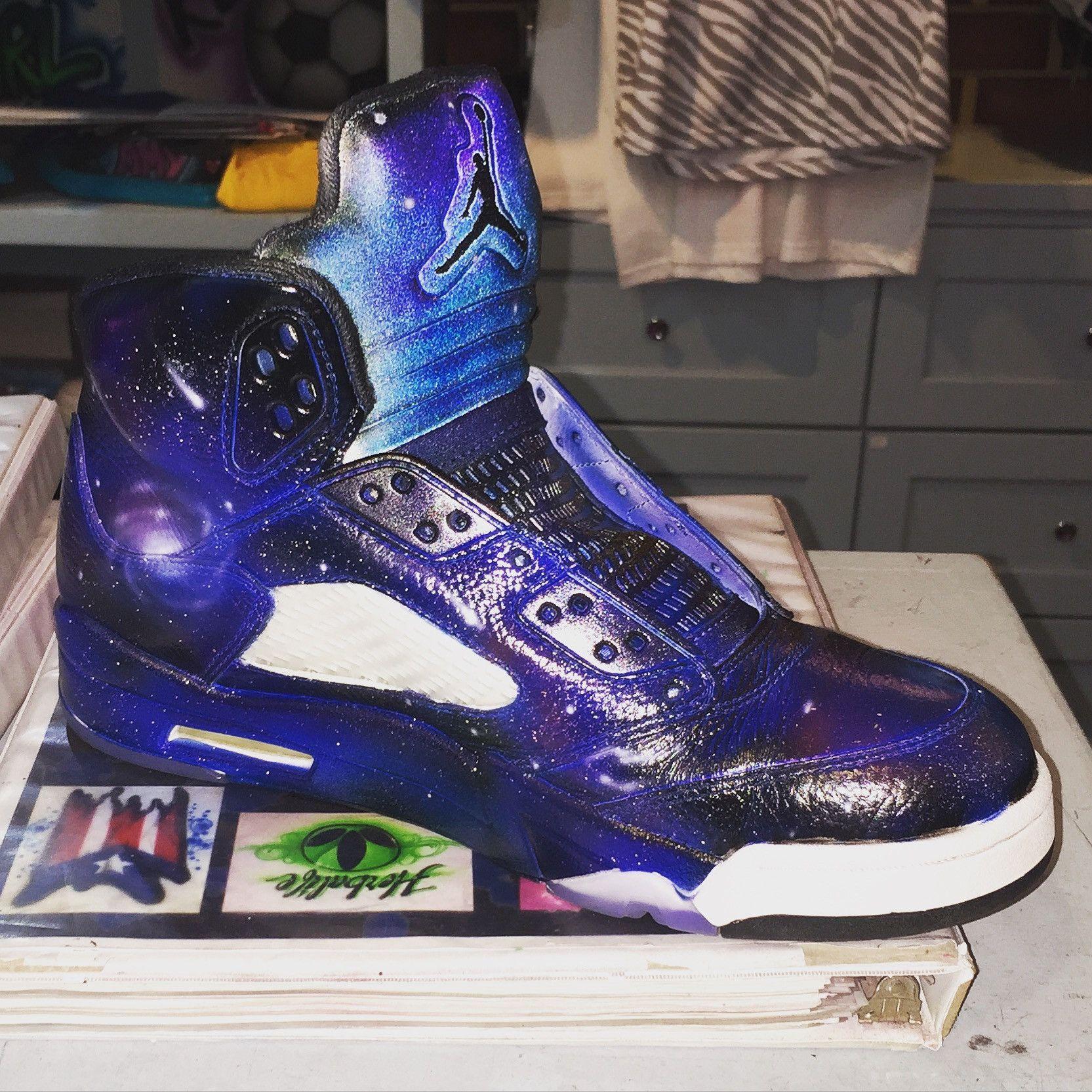 Galaxy Jordans