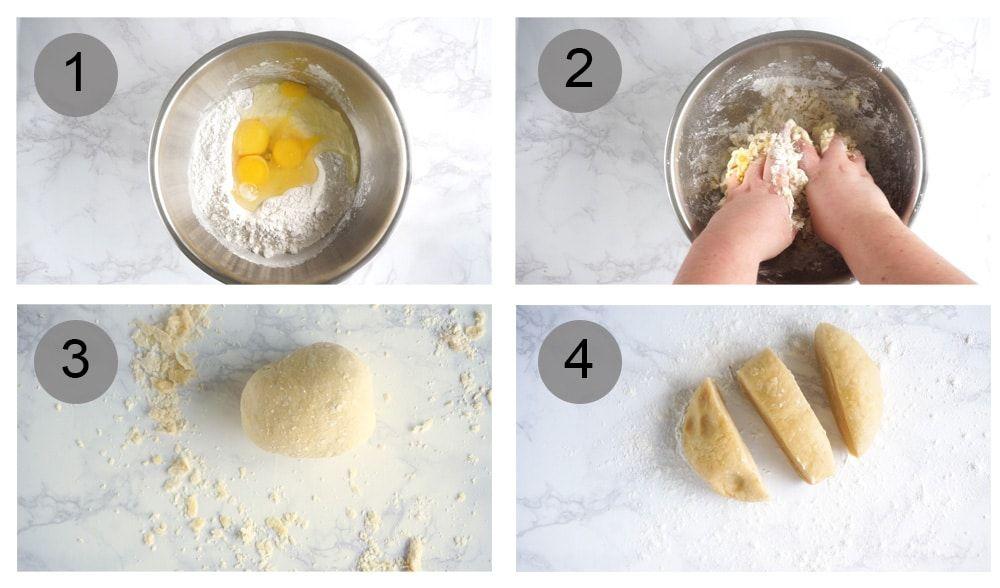 How to make homemade pasta with the kitchenaid pasta