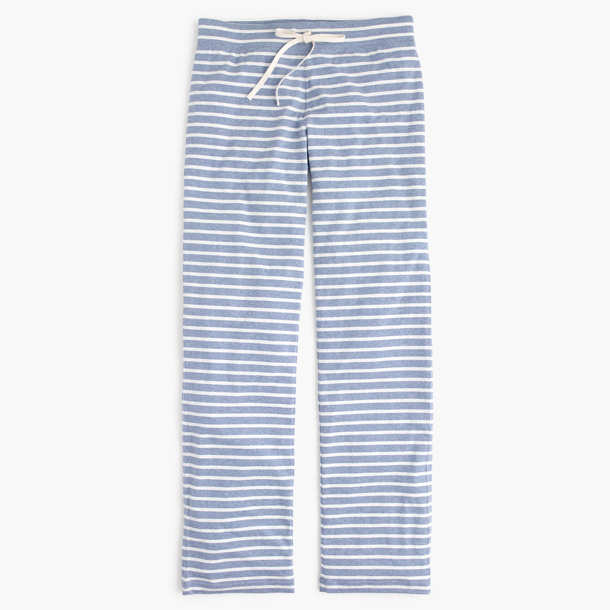 Dreamy Cotton Pant In Stripe Cotton Pants Pj Pants Pants