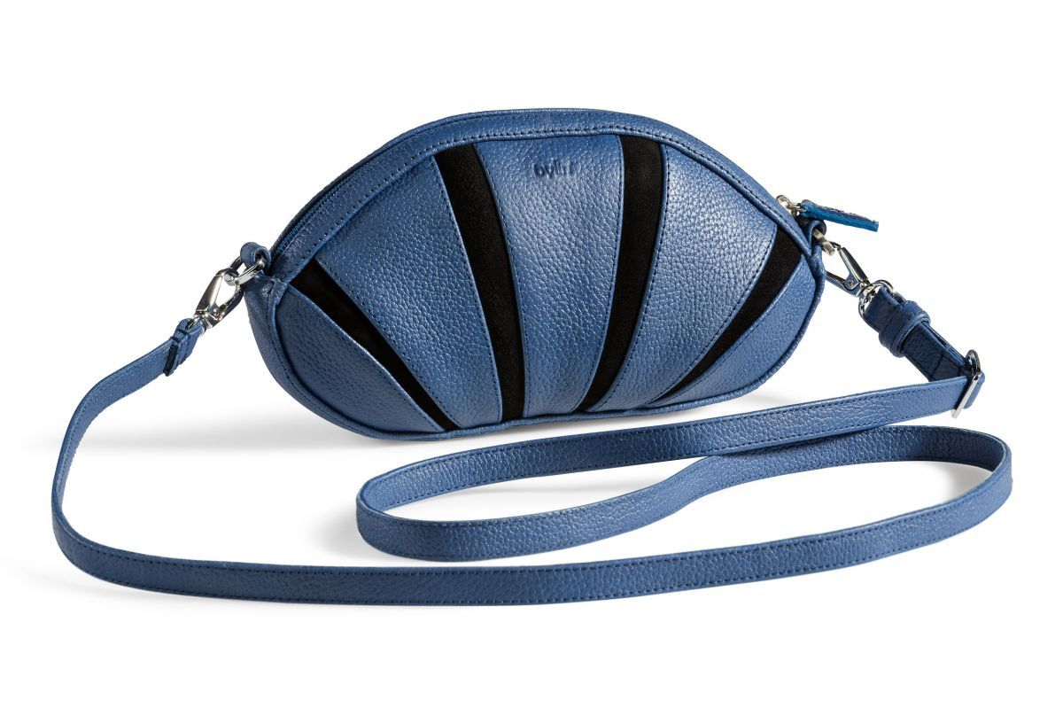 Sunrise Cobalt structure Small | Sunrise | Collection | by-Lin Bags & Accessoires