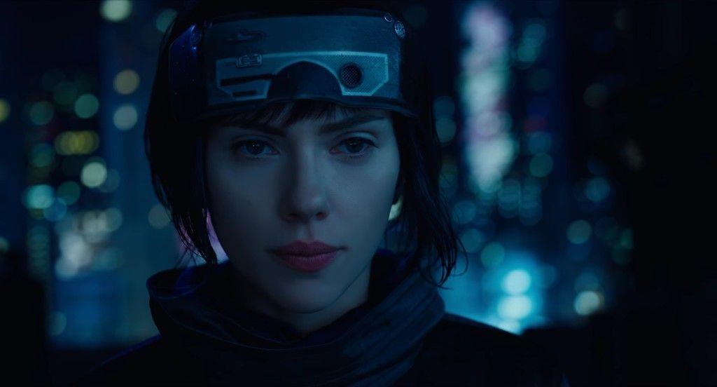 Ghost In The Shell 2017 Movie Scarlett Johansson Wallpaper Ghost