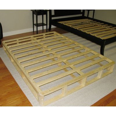 8 Wood Box Spring Foundation Small Space Diy Box Spring Bed Foundation