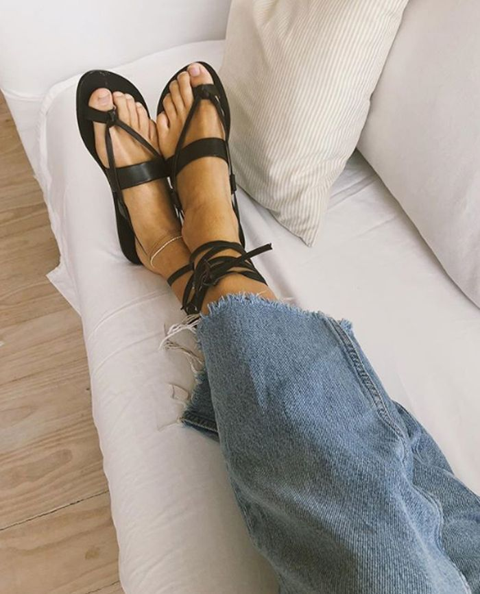 10 Standout Sandal Trends That Will See You Through the Summer is part of Trending sandals, Sandals, Fashion heels, Raffia sandals, Fashion me now, Sandals heels - We've put together what is basically a dissertation on 2019's sandal trends  Click to see and shop the key sandals trends