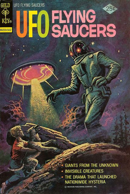 UFO Flying Saucers #5 (Gold Key, 1975)