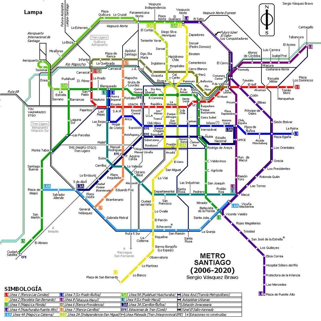 La Metro Map 2018.Metro Santiago 2018 Ciudad In 2019 Pinterest Notes From