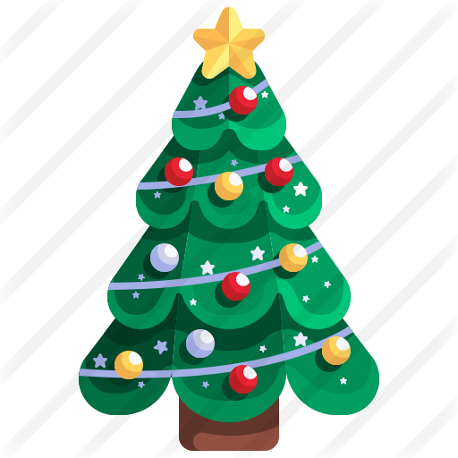 Christmas Tree Free Vector Icons Designed By Justicon Vector Icon Design Vector Free Vector Icons