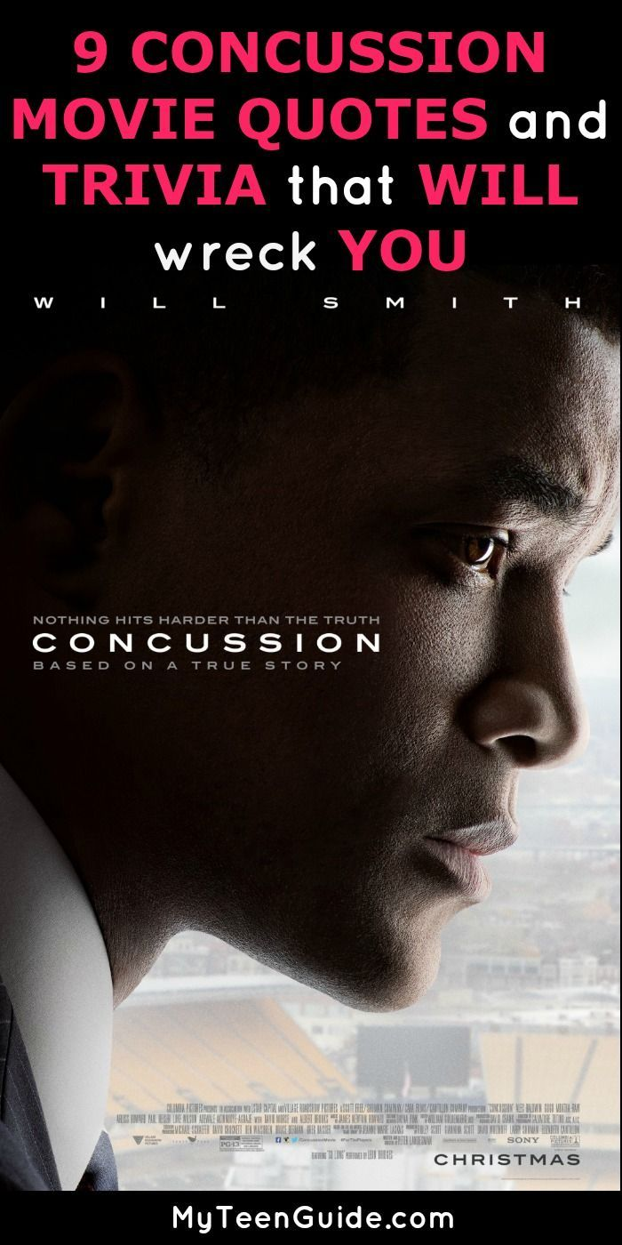 Concussion Quotes Entrancing 9 Concussion Movie Quotes And Trivia That Wiil Wreck You  Trivia . Inspiration