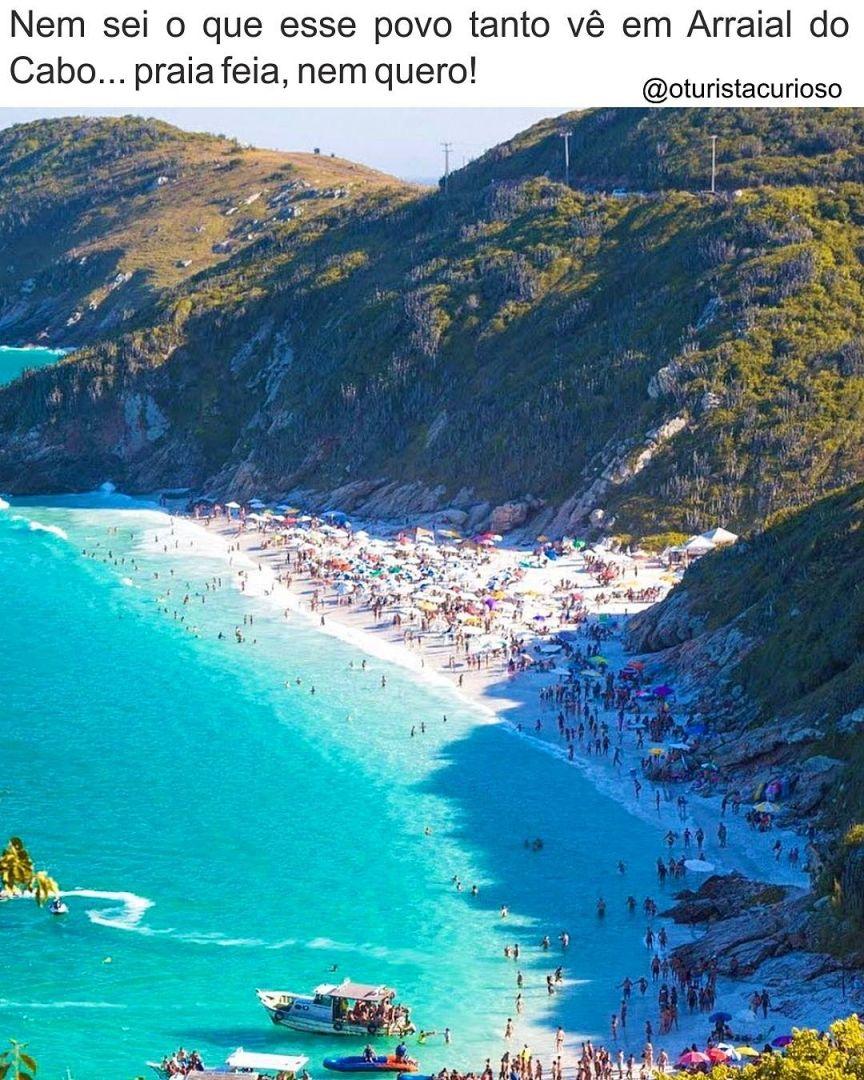 Que Graca Tem Essa Praia No Pontal Do Atalaia Em Cabo Frio Rio De