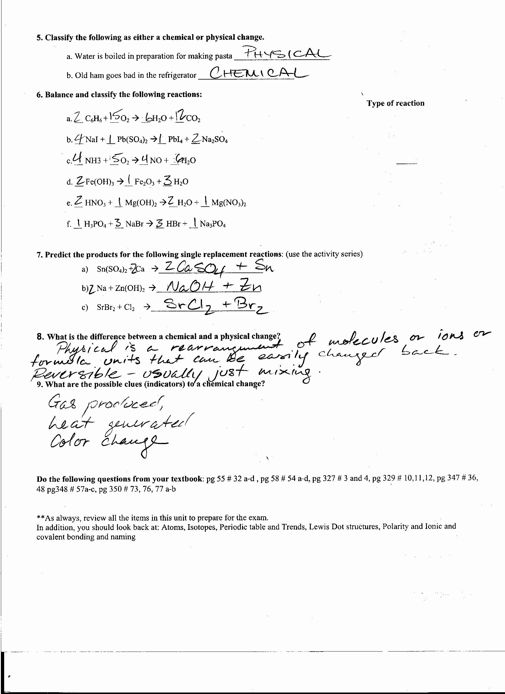 Worksheet Electron Dot Diagrams And Lewis Structures Answers By6u Di 2020