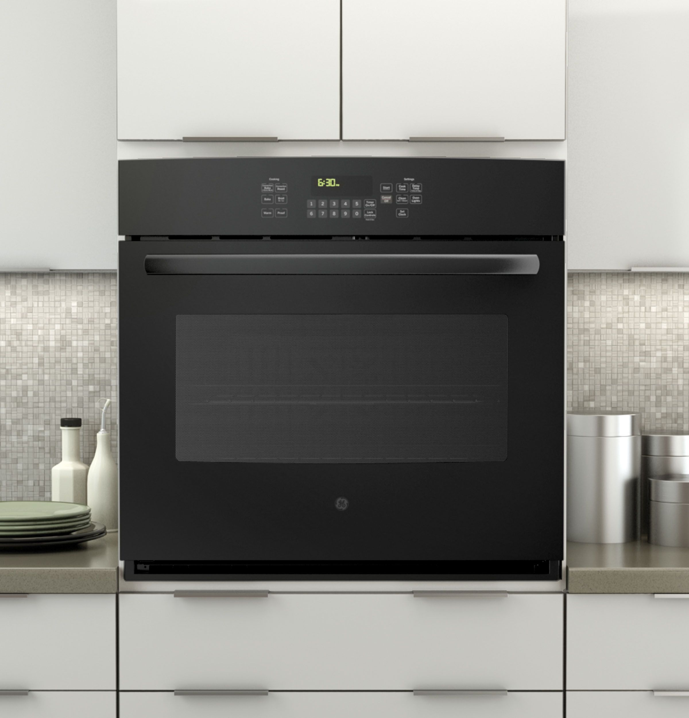 """JT5000DFBB GE 30"""" Built In Single Convection Wall Oven"""