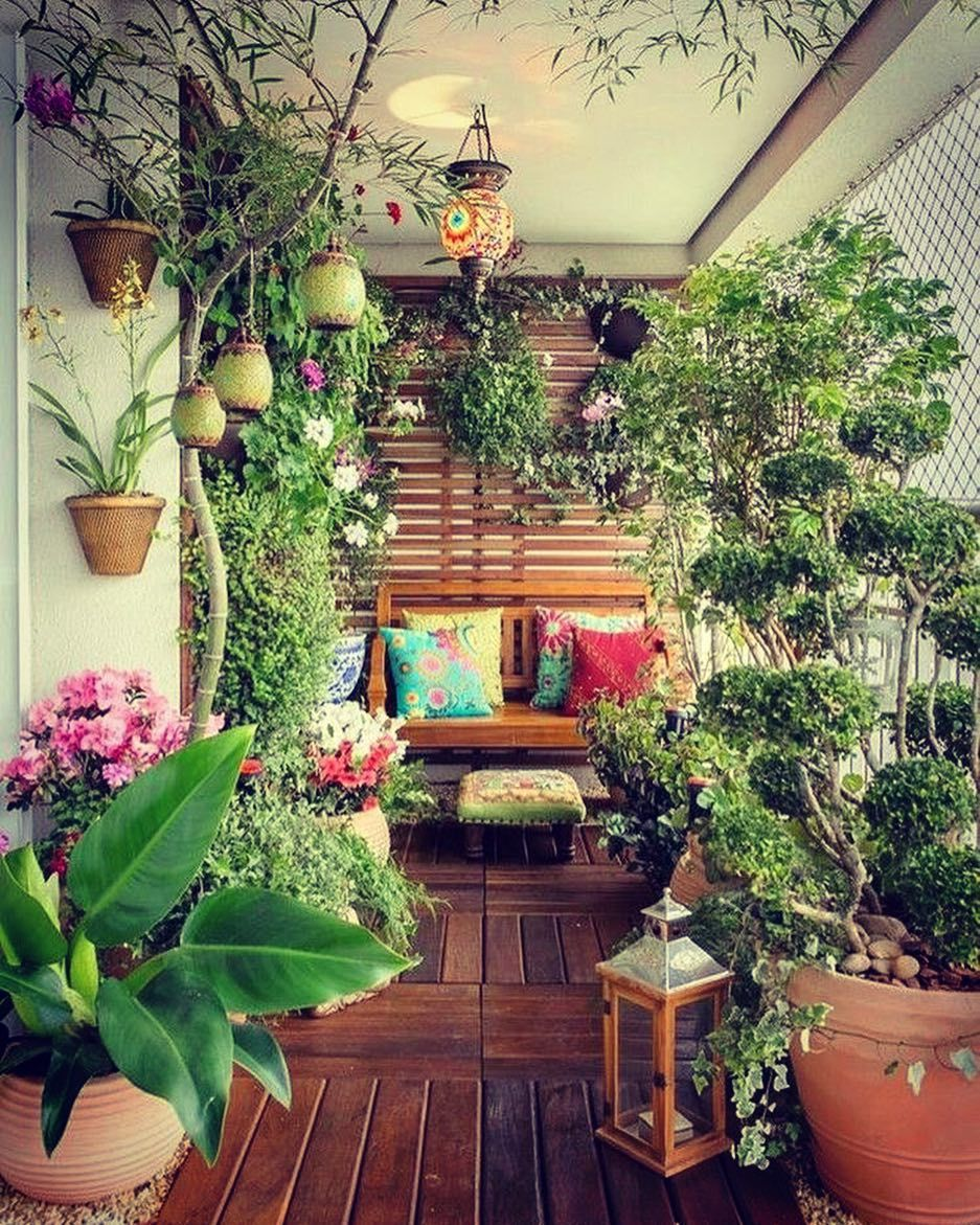 New The 10 Best Home Decor Today With Pictures My Dream Balcony Pic Source Pinterest Trend4hom Small Balcony Garden Apartment Plants Apartment Garden