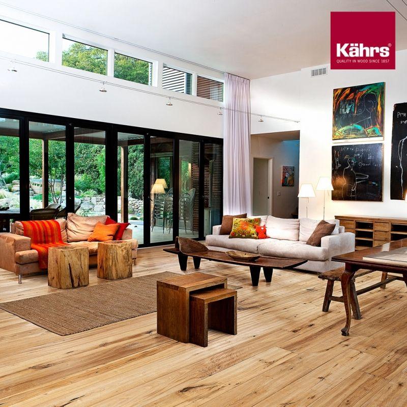 parkett-weber-shopde Kaehrs-Artisan-Eiche-Straw Wohnen - wohnzimmer ideen parkett