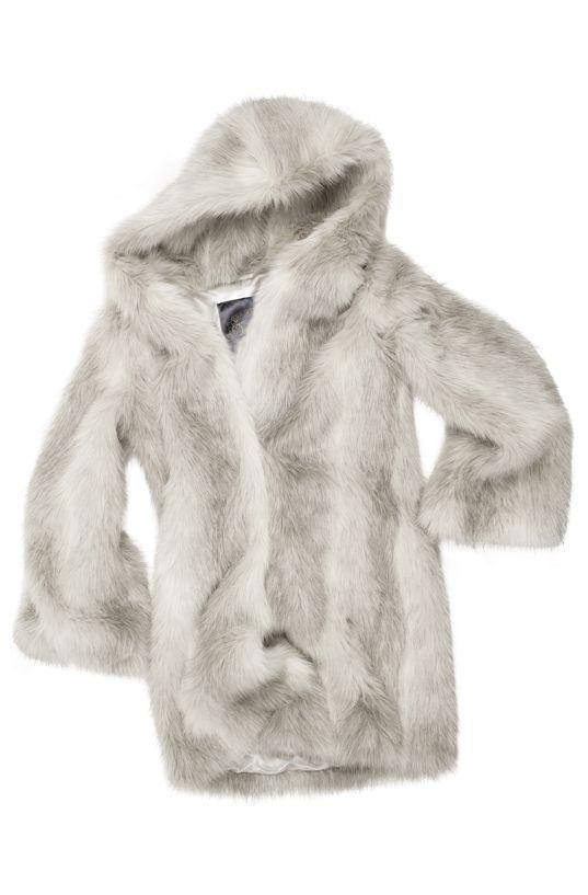 b7005ddcf0f Nougat Arctic Fox Pom Beanie