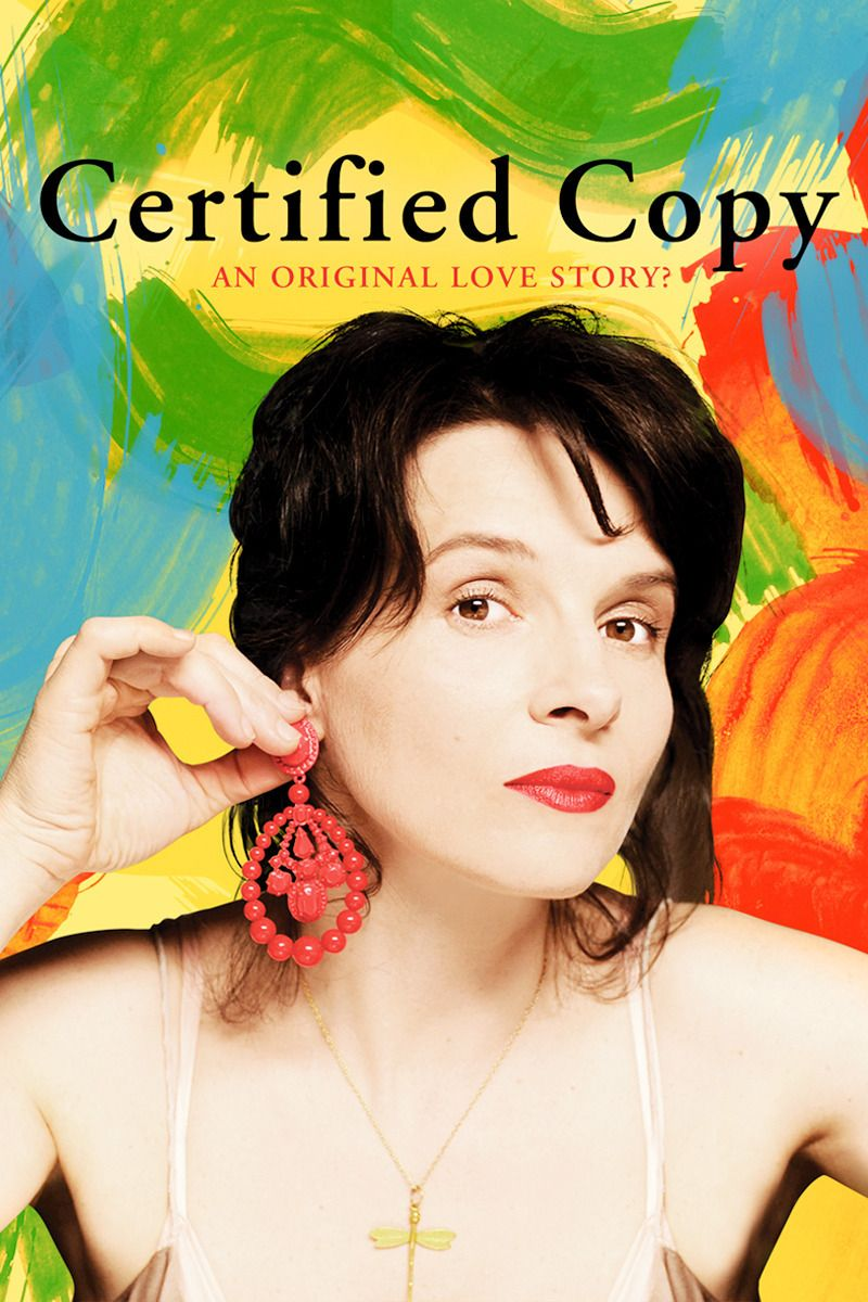 Certified Copy 2010 Certified Copy Romance Movies Best Streaming Movies