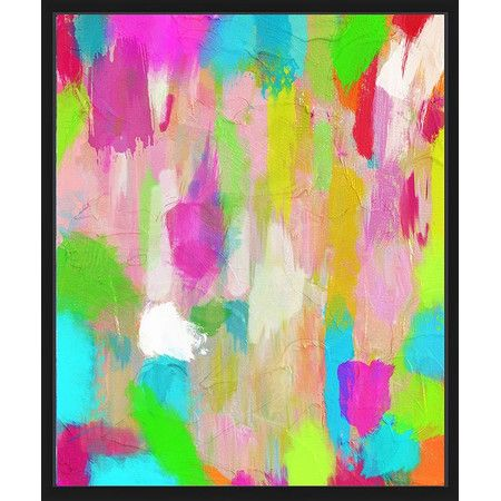Gallery wrapped giclee print on canvas surrounded by an elegant floater frame. Item comes ready to hang.Features:Gallery wrap...