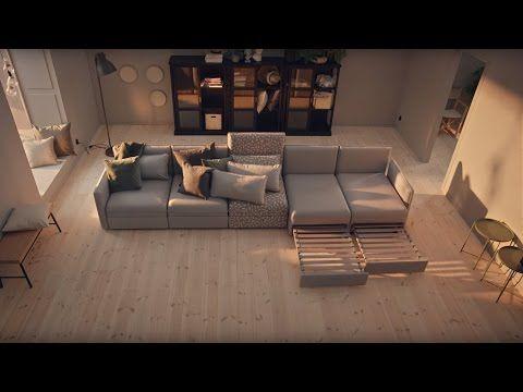 In der VALLENTUNA Serie von IKEA wartet dein neues Modulsofa ...