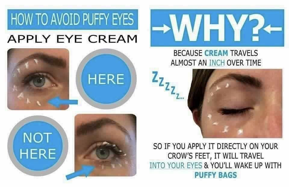 Protect your peepers people. Not only will lack of sleep ...
