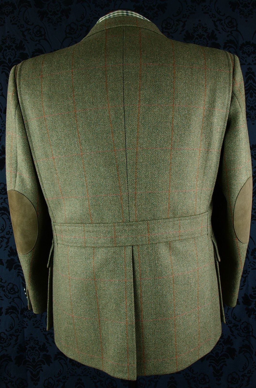 New Superb Mens Tweed Austin Reed Norfolk Shooting Hunting Jacket Blazer 42 S Hunting Jackets Tweed Blazer Jacket