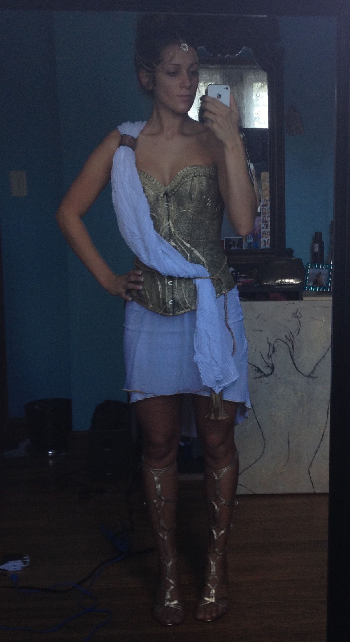 Athena God Of War Costume