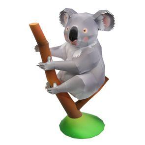 Free Printable 3d Koala Bear Paper Craft Canon Creative Park