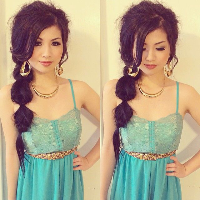 Princess Jasmine Inspired Hair Makeup Outfit Look Jasmine Hair Princess Jasmine Hair Disney Hair