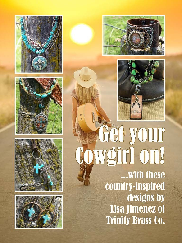Get your cowgirl on... http://www.joomag.com/magazine/digital-beading-magazine-issue-4-june-2013/0863876001371690237