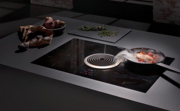 Résultat De Recherche Dimages Pour Plaque Cuisson Hotte Intégrée - Cuisiniere induction gaz pour idees de deco de cuisine