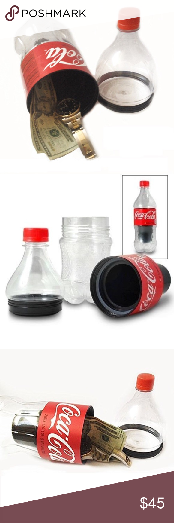 Secret fake coke bottle Secret compartment for storing