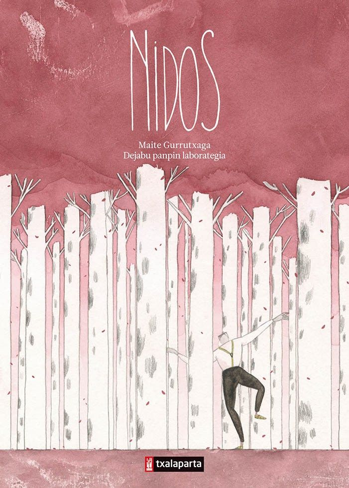 «Nidos» es una preciosa historia destierros en @txalapartatik. Los tonos pastel de esta novela gráfica parecen dulcificar el dolor y otros sentimientos que Maite Gurrutxaga expresa con tanta precisión a través del dibujo. Encuentros y desencuentros en el relato lírico de un anciano viudo expropiado y su enfermera bosnia. Basada en la obra de teatro «Covek nije ptica/Gizona ez da txoria». http://www.veniracuento.com/