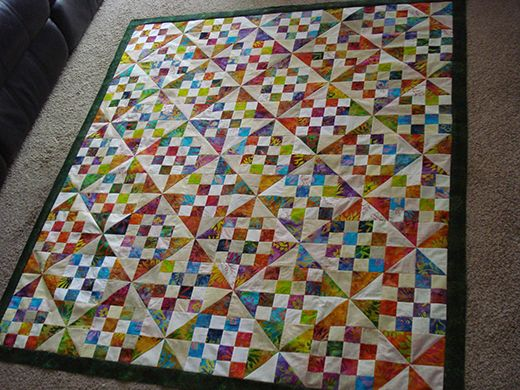 Patches And Pinwheels Quilt Free Pattern Quilts Pinterest