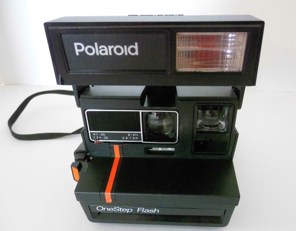 polaroid onestep flash camera 1980 s era working condition with rh pinterest com Like the Old Polaroid Cameras Like the Old Polaroid Cameras