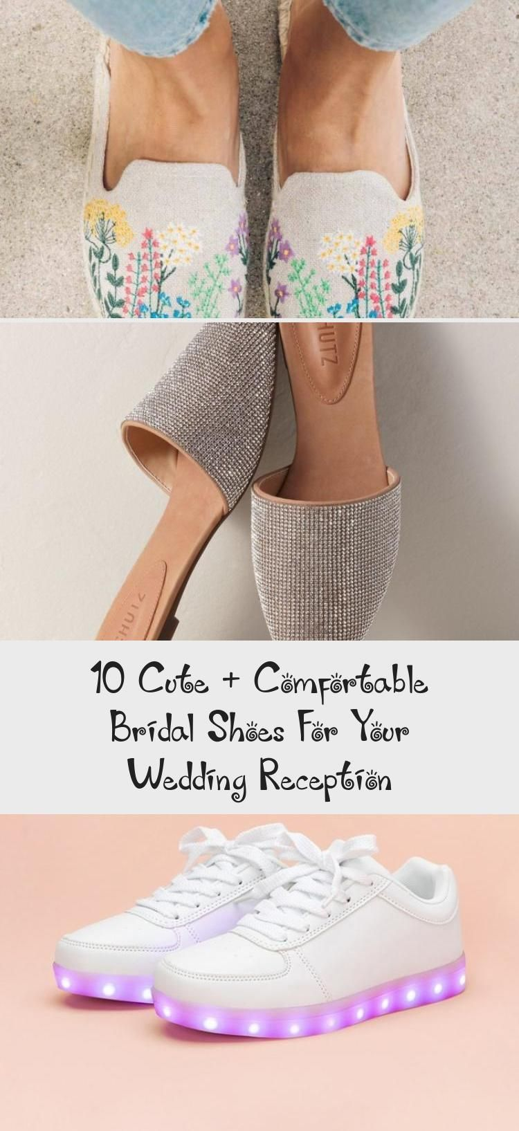 10 Cute + Comfortable Bridal Shoes For Your Wedding Reception - Duds ,  #badgleymischkaBridal...