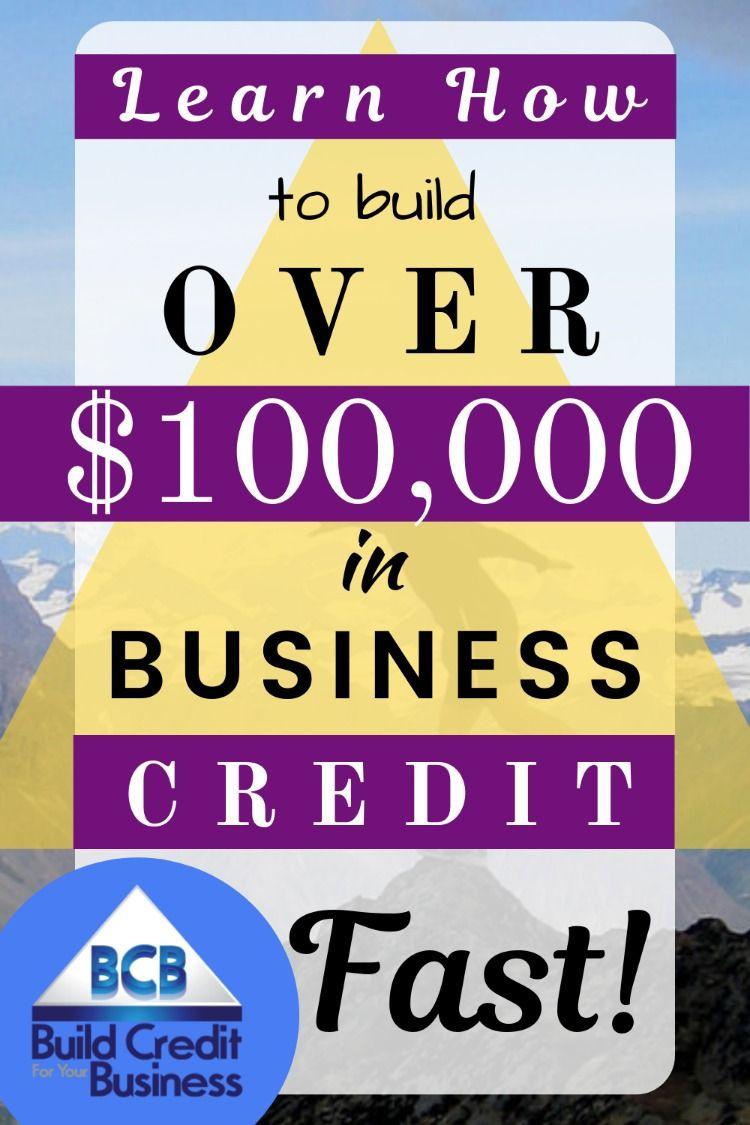 Build Business Credit FAST Build credit, Credit repair