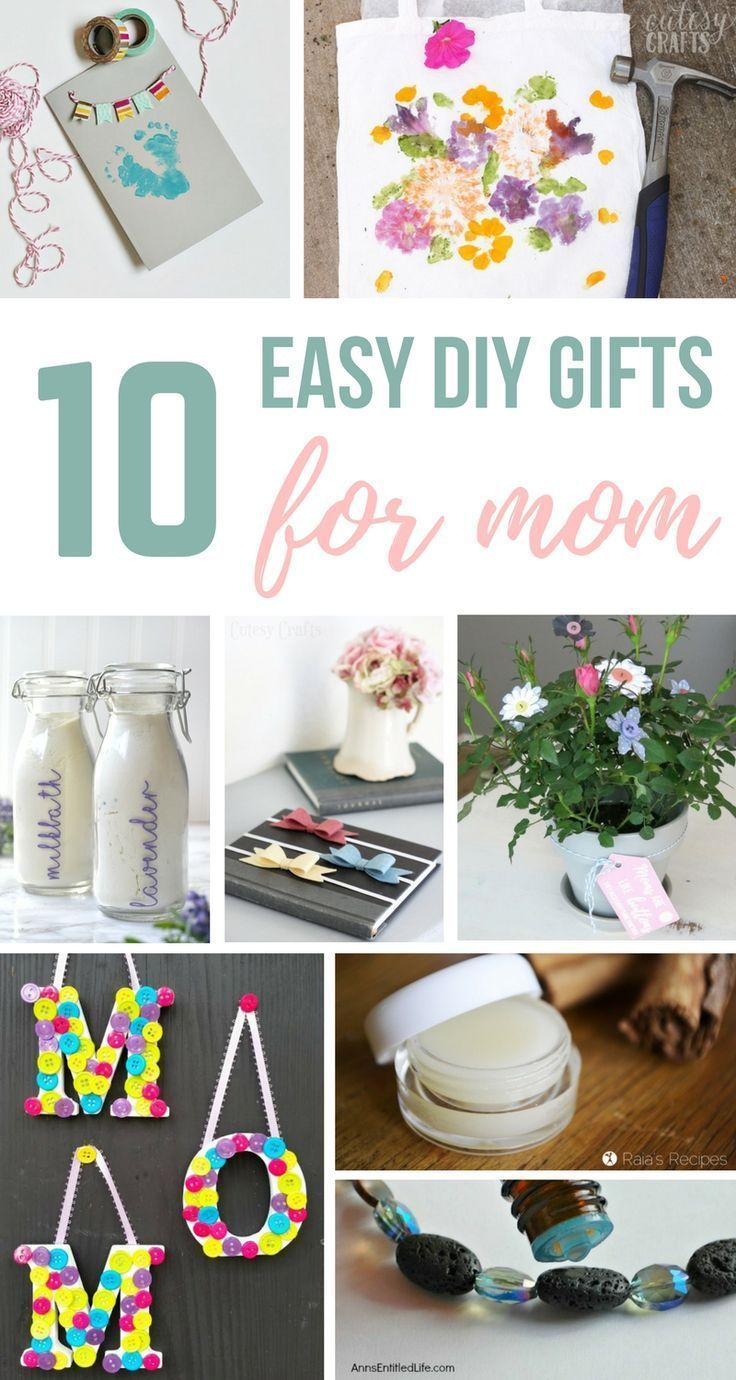 10 easy DIY gifts for Mom you can make in 1 hour or less | Mother\'s ...