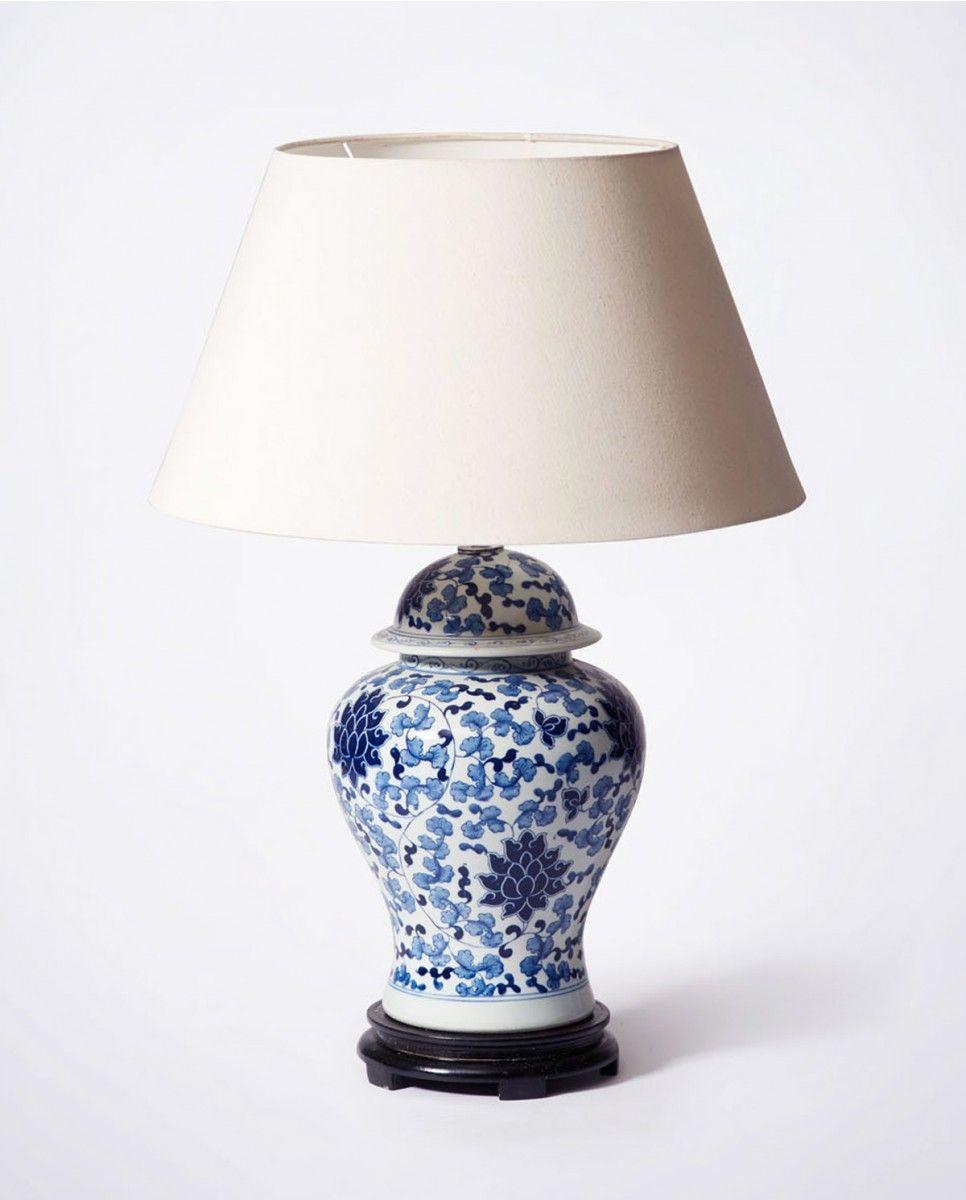 Hamptons Blue White Lamp Porcelain Bowerbird Home White Lamp White Lamp Base Blue And White