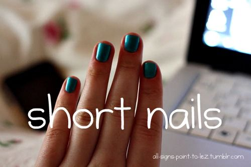 I have short nails Andthatswhoiam