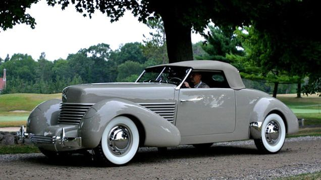 1938 Cord 814 Custom Convertible Prototype With Images Cord