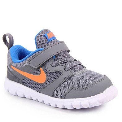 Tênis Nike Flex Experience 3 Tdv 653703 Tam 18 Ao 26 - Cinza