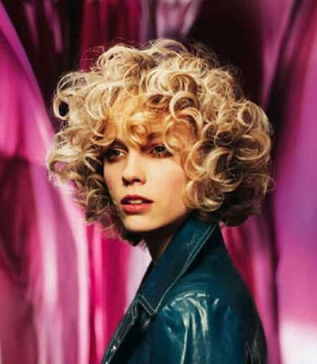 Hairstyles for Curly Short Hair Coiffures Coupe